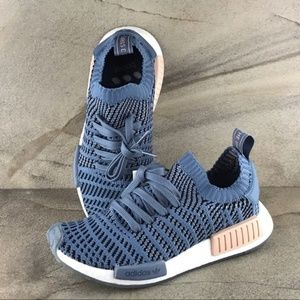 Adidas NMD R1 Primeknit Running Shoes Size 8 NWOB